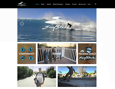 SurfSkate USA Website